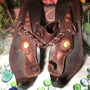Elf Leather Sandals